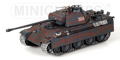 Panther Battle Tank V, Model G, Berlin, Spring 1945, 1:35, Minichamps