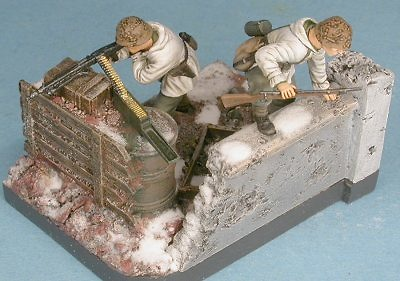 Panzer Grenadiers, Estalingrado, 1943, 1:48, Gasoline