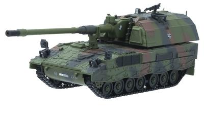 Panzer Haubirte PzH-2000, Artillería Autopropulsada, Ejército Alemán, Afganistan, 2001, 1:72, Panzerkampf