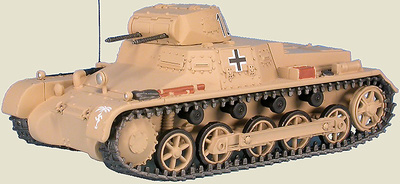Panzer I Sd.Kfz.101 Pz.Kpfw.I Ausf.B, Afrikakorps, Tobruk, Libia, 1941, 1:48, Gasoline