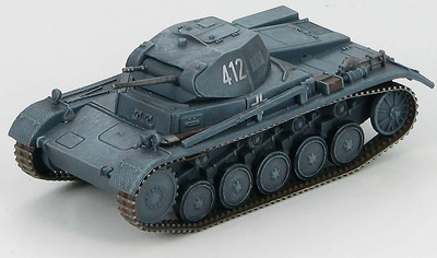 Panzer II Ausf. C 6th Panzer Division, France 1940, 1:72, Hobby Master