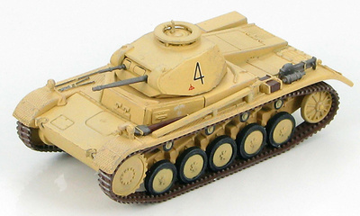 Panzer II Ausf. C Pz.Rgt.8, 15th Panzer Division, Libya 1941, 1:72, Hobby Master