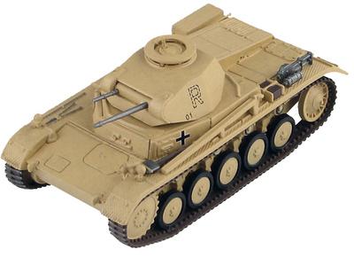 Panzer II Ausf. F 7.Pz. Rgt., 10.Pz. Div., Túnez, 1943, 1:72, Hobby Master