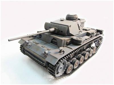 Panzer III, color gris, 1:16, Mato