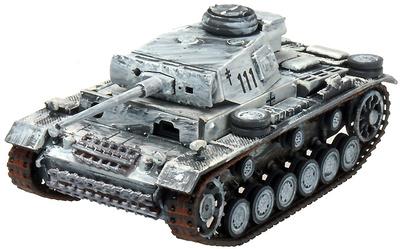 Panzer III Ausf.L, 3.Panzergrenadierdivision, Rusia, 1942, 1:72, Panzerstahl