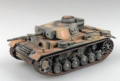 Panzer III Ausf.N, 15.Pz.Div, Afrikakorps 1943, 1:72, Panzerstahl