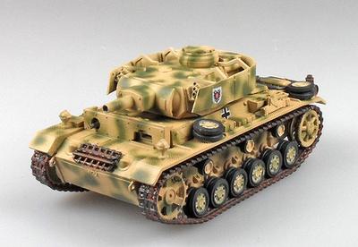 Panzer III Ausf.N, 2.Pz.Div, Kursk 1943, 1:72, Panzerstahl