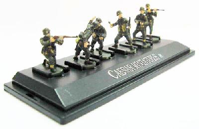 Panzergrenadiers, German Army, Set 1, 1:72, Caesar Miniatures