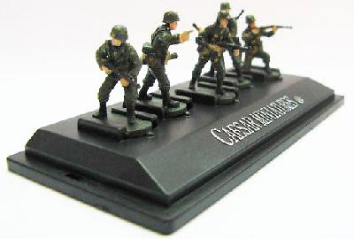 Panzergrenadiers, German Army, Set 3, 1:72, Caesar Miniatures