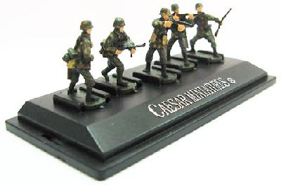 Panzergrenadiers, German Army, Set 4, 1:72, Caesar Miniatures