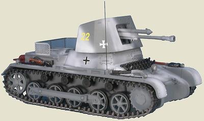 Panzerjäger I Ausf.B 4.7cm PaK(t) (Sf) auf Panzerkampfwagen I, Pz. Div. Gross Deutschland, Rusia, 1942, 1:48, Gasoline