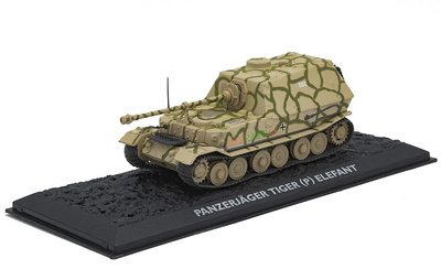 Panzerjäger Tiger (P) Elefant, Alemania, 1942/43, 1:72, Atlas Editions