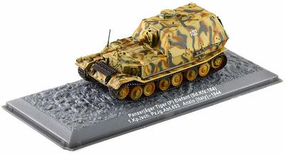 Panzerjäger Tiger (P) Elefant (Sd.Kfz. 184) 1944, 1:72, Altaya
