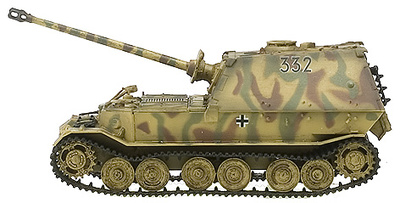 Panzerjager Elefant, 1944, 1:72, Easy Model