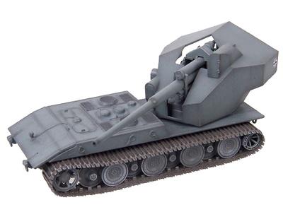 Panzerkampfwagen E-100 Ausf. B con cañón de 128 mm., Alemania, 1946, 1:72, Modelcollect