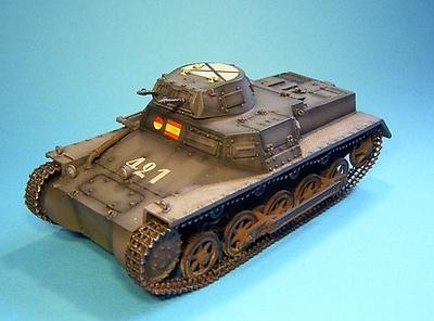 Panzerkampfwagen I Ausf. B, Nº 421, España, 1936-39, 1:30, John Jenkins