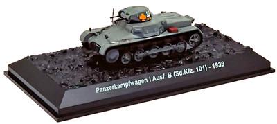 Panzerkampfwagen I Ausf. B, Sd.Kfz.101, Alemania, 1939, 1:72, Amercom