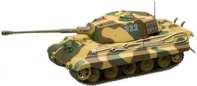 Panzerkampfwagen Tiger Ausf. B, s. SS Pz. Abt. 501, Las Ardenas, 1944, 1:72, Altaya