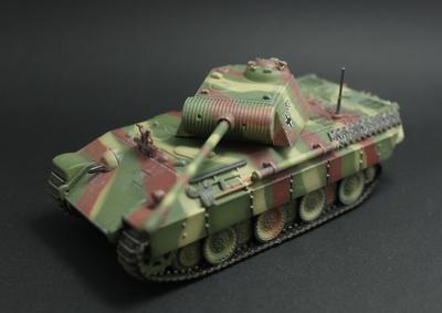 Panzerkampfwagen V Panther, Alemania, 1943-1945, 1:72, Panzerkampf
