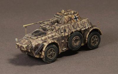 Panzerwagen AB43(i), Gebirgsdivision, Italia, 1944, 1:72, War Master