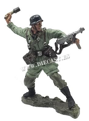 Paracaidista alemán, Creta, 1941, 1:30, Hobby & Work