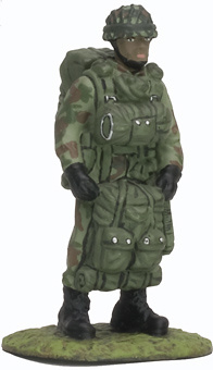 Paratrooper, Japan, 1:32, Altaya