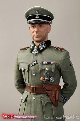 "Paul Hausser, WW2 Waffen-SS ""Das Reich"" Commander, 1:6, 3R"