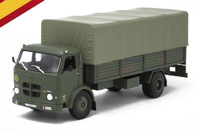 Pegaso Comet 1100L Truck, Spanish Army, 1963, 1/43, Salvat