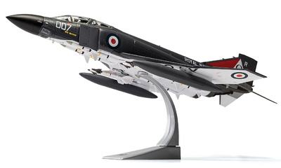 Phantom FG.1 XT864/007R, No.892 NAS, HMS Ark Royal, Noviembre, 1978, 1:72, Corgi