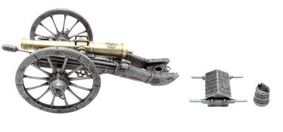 Pieza de Artillería, 1:24, Atlas Editions