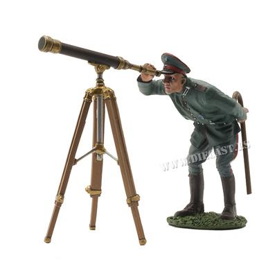 Piloto Alemán con Telescopio, 1ª Guerra Mundial, 1:30, John Jenkins
