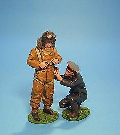 Piloto Alemán con su ayudante, 1ª Guerra Mundial, 1:30, John Jenkins