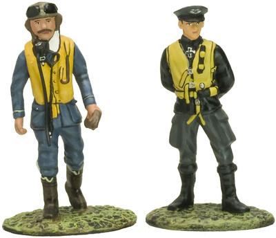 Piloto Alemán y Piloto Británico, 2ª Guerra Mundial, 1:32, Altaya