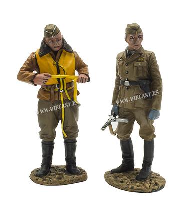 Piloto y Suboficial NCO de la Luftwaffe, Guerra Civil Española, 1:30, John Jenkins