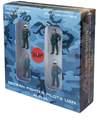 "Pilotos modernos de caza US Navy ""Alpha"", 1:72, Calibre Wings"