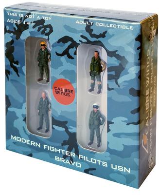 """Pilotos modernos de caza US Navy """"Bravo"""", 1:72, Calibre Wings"""