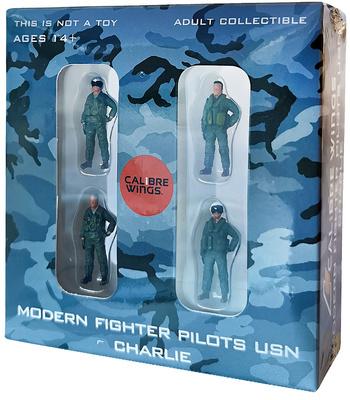 "Pilotos modernos de caza US Navy ""Charlie"", 1:72, Calibre Wings"