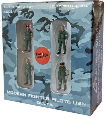 """Pilotos modernos de caza US Navy """"Delta"""", 1:72, Calibre Wings"""