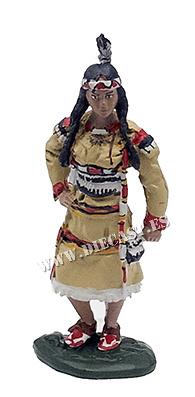 Pocahontas, hija del jefe Powhatan, 1595-1617, 1:30, Hobby & Work