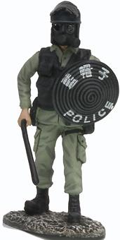 Police Riot Squad, Hong Kong, 1:32, Altaya