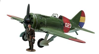 Polikarpov I-16, CM-023, 1ª Escuadrilla de Moscas, Mayo, 1937, 1:30, John Jenkins