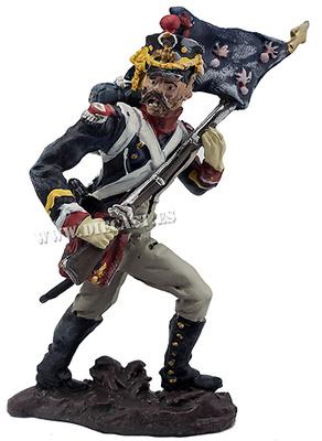 Porta guión del 1º Regimiento de Tiradores de la Guardia Imperial, 1:30, Hobby & Work