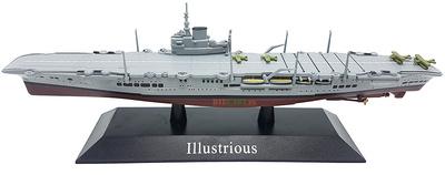 Portaaviones Illustrious, Marina Real Británica, 1940, 1:1250, DeAgostini