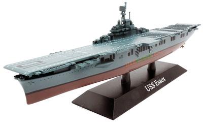 Portaaviones USS Essex, Armada Estadounidense, 1942, 1:1250, DeAgostini