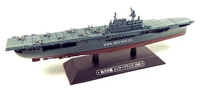 Portaaviones norteamericano USS Enterprise, 1942, 1:1100, Eaglemoss
