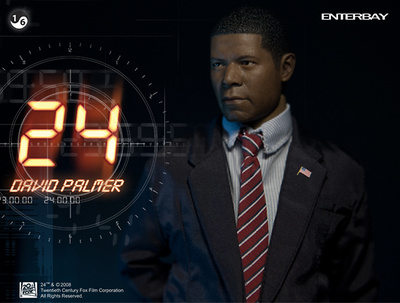 Presidente David Palmer, 24 Horas, 1:6, Enterbay