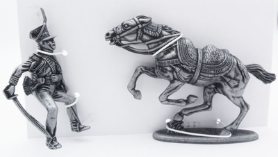 Principe Poniatowski, Caballo del Principe Poniatowski, 1:24, Atlas Editions