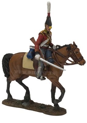 Private, 2nd Regiment King?s German Dragoons, 1812, 1:30, Del Prado