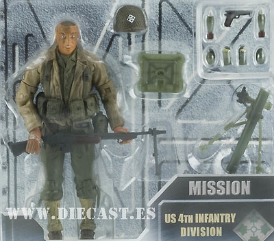 Private Gordon, US 4th Infantry Division, Normandy 1944, 1:18, Elite Force