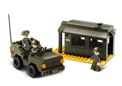 Puesto Avanzado con Jeep, Sluban